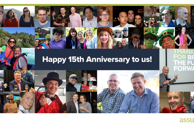Assurity Consulting celebrates its 15th anniversary