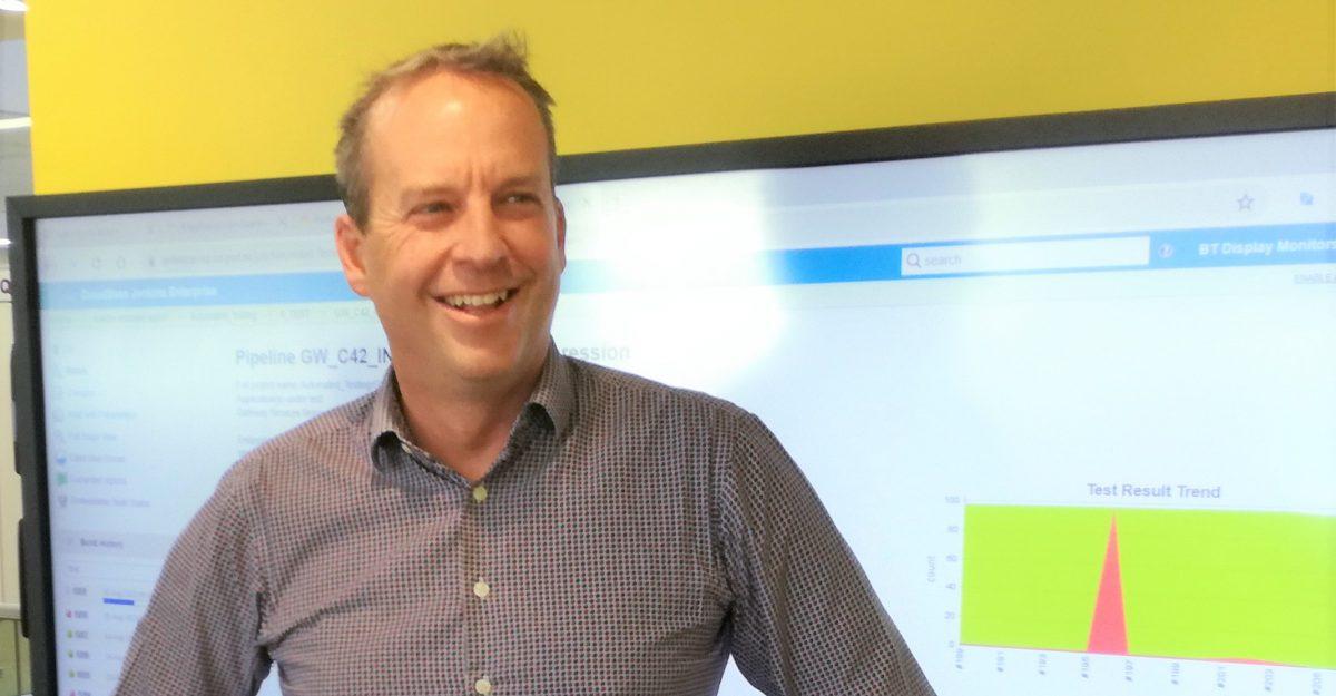 Chris Hourigan, Business Transformation Testing Lead, Inland Revenue
