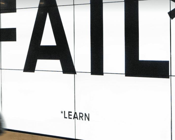 Failure – an inevitable part of innovation!